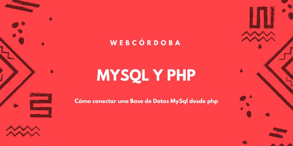Conectar base de datos mysql con php