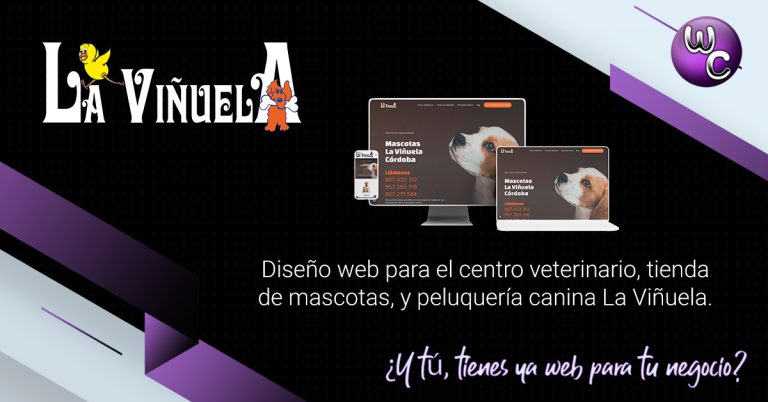 Centro veterinario la viñuela captura web
